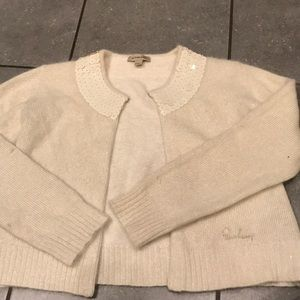 Burberry sweater with sparkles